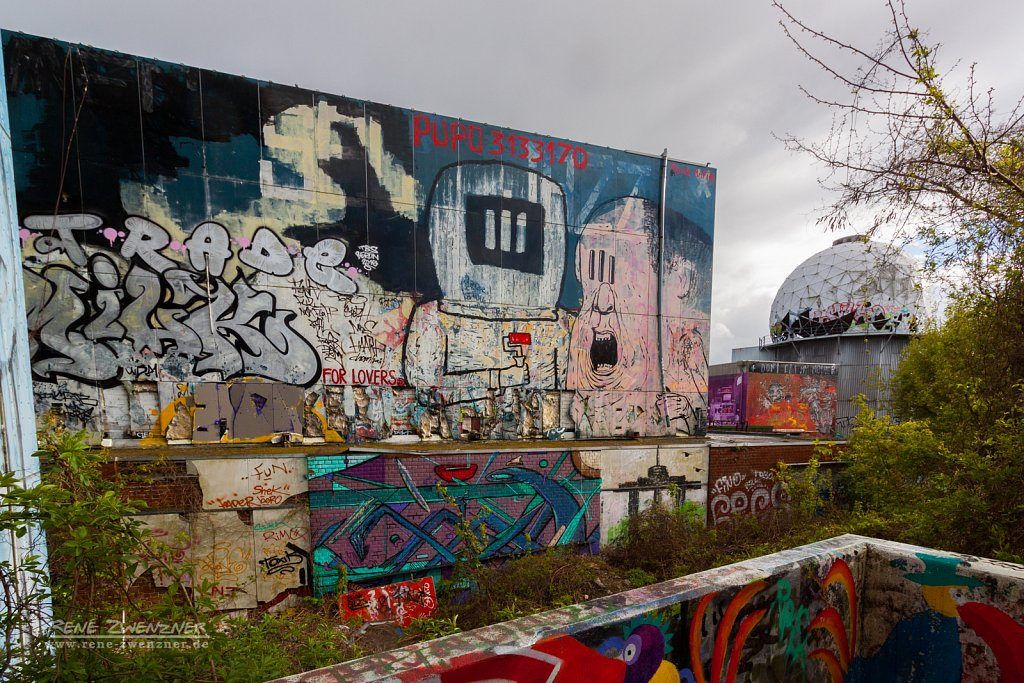 Teufelsberg Berlin - Abhörstation