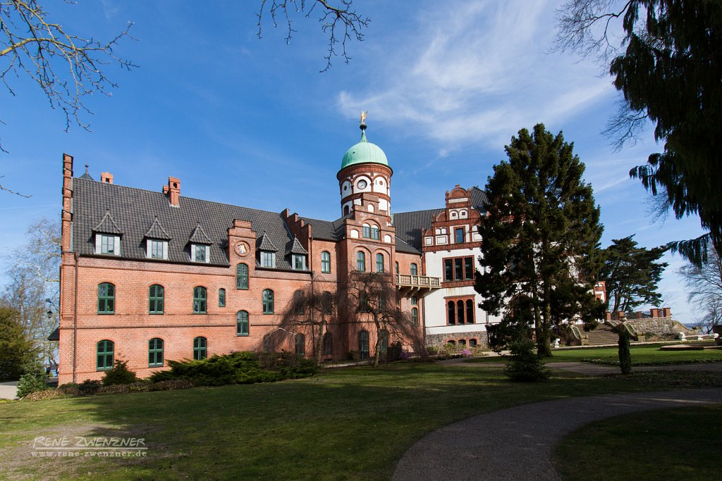 Schloss Wiligrad + Parkanlage